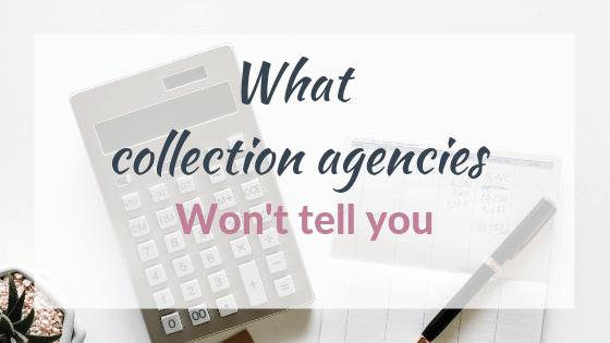 debt collections printable