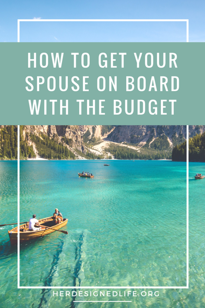 how to get your spouse on board with the budget