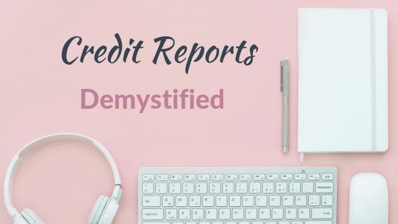 credit report how to read