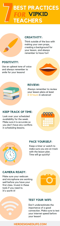 VIPKID Teacher tips