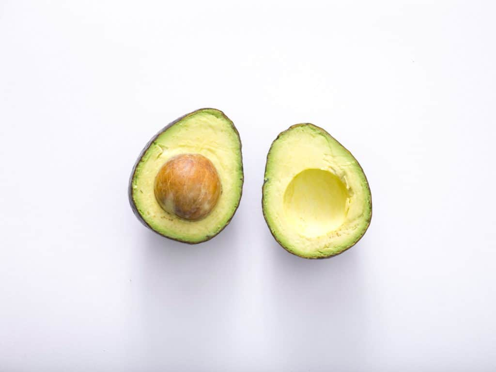 avocado keto snack