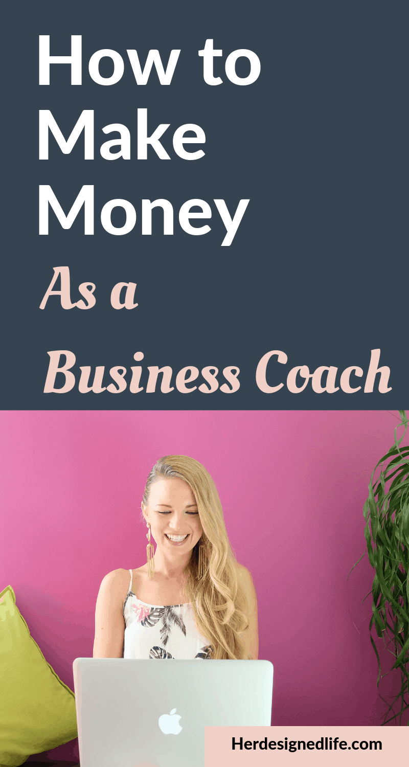 How to Make Money as Business Coach