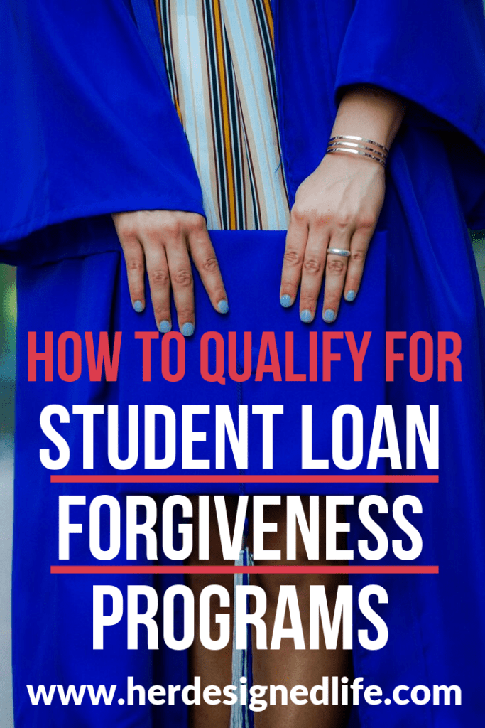 student loan forgiveness programs pinterest