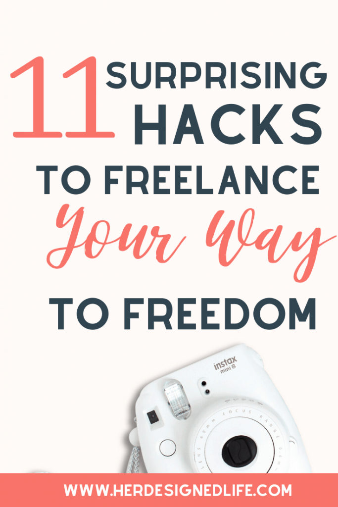 Surprising Hacks to Freelance Your Way to Freedom
